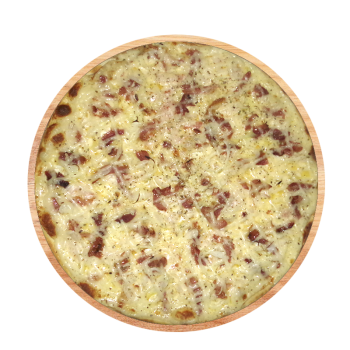 Pizza Bacon com Catupiry