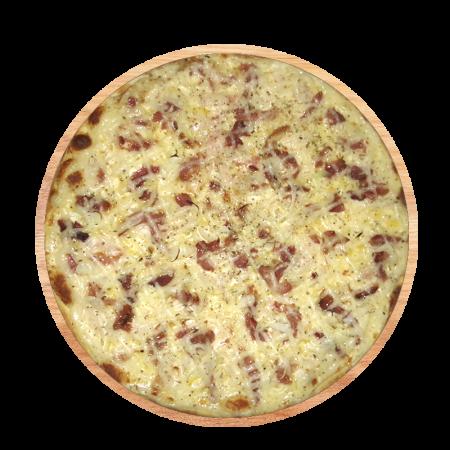 Pizza Bacon com Catupiry