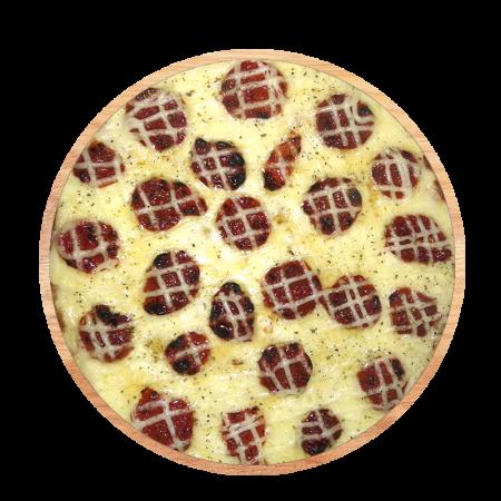 Pizza Da-Nona com Mussarela de Búfala