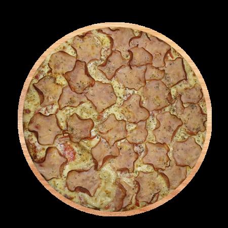 Pizza Lombo com Mussarela